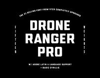 Drone Ranger PRO Font Family 2018