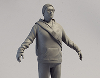 Adam, High resolution sculpt