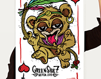 GreenSide7 x @simplevector