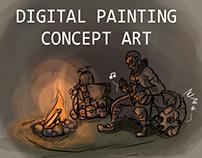 Digital Painting & Concept Art