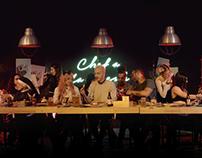 CHEF BURGER - LA MEET TABLE