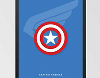 Marvel Captain America Poster