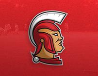 Trojans Sport Logo (Timelapse Video)