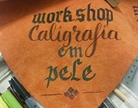 WORKSHOP CALIGRAFIA EM PELE