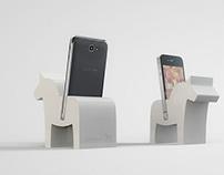 Daladock ® - Dalahäst Iphone Dock