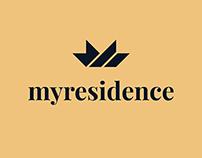 My redisence logo design