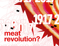 Meat revolution? / Poster 2017