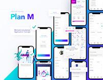 App – Plan M(motivation) - planner concept UX/UI