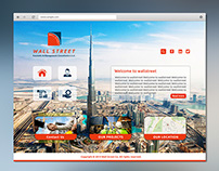Wallstreet Website Sample