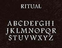 RITUAL Typeface
