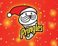 Packaging Pringles Christmas