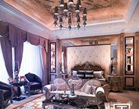 Neo classic bedroom design