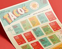 TTT Mexican Diner menu