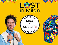 Lost in Milan / Mika 4 Swatch / Contest Facebook
