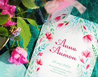 Wedding Invitation №1