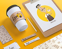 Luigi / Сorporate identity for a mobile coffee shop