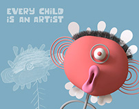 EVERY CHILD IS AN ARTIST | Graduation Project