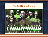 NBA 2K League Season 2 Work