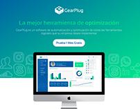 GearPlug - Landing Page