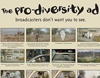 Nando's Pro-Diversity Print Ad