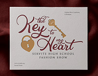 The Key to My Heart Logo Design
