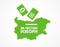 Logo Design: Fair Elections in Bulgaria