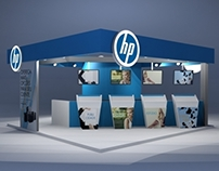 HP Indigo Exhibition stand project