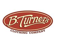 B.Turner's - Corporate ID // Logo Design