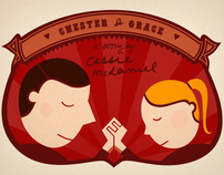 Chester & Grace bookmark