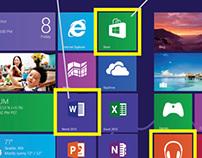 MICROSOFT - Windows 8 Quick Tips card