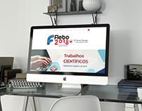 Layout Evento Flebo 2018 - Dableo Comunicação