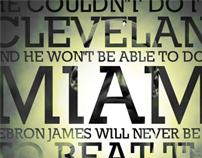 LeBron James Can't Beat The Celtics!