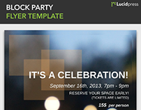 Party Flyer Templates | Made in Lucidpress
