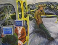 Oil paint 2007