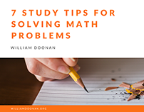 7 Study Tips For Solving Math Problems
