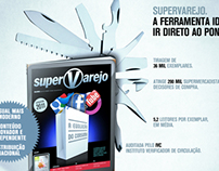 Campanha para novo posicionamento - Revista SuperVarejo