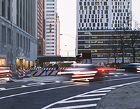 NEW YORK I WEST 30TH STREET I ARCHITECTURAL RENDERING