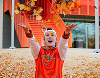 Fall Leaves Photoshoot - UT Dallas