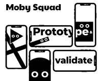 Moby Squad brand identity