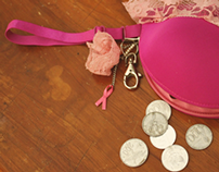 Breast Cancer Awareness Coin Purse