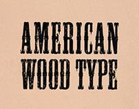 American Wood Type Booklet