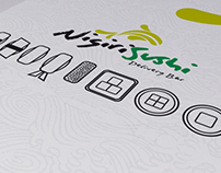 NIGIRI-SUSHI Delivery Branding