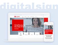 Digital Signature Landing Page