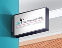 Branding | 3D Performing Arts