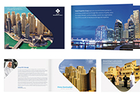 Dubai Properties Group - Corporate Brochure Design
