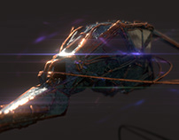 3d Space Ship & Animation