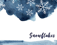 Snowflakes : Reminiscing Winters