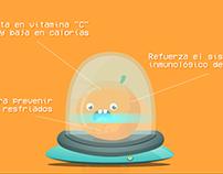 Escáner Saludable - Naranjita