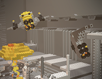 Lego Spaceship Loop