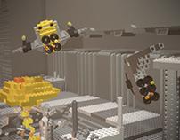 Lego Spaceship Loop